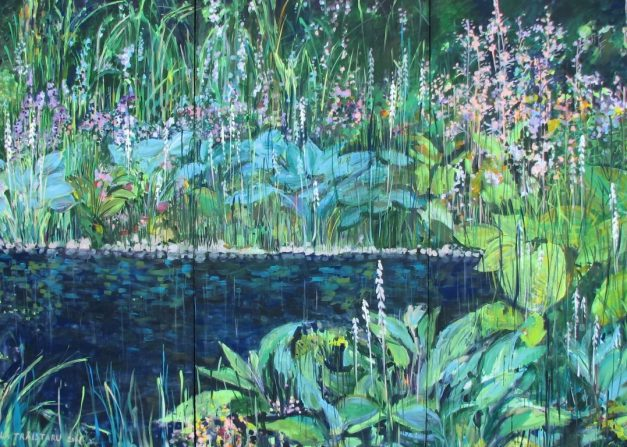 Paradise 4, 200x300 cm, acrilyc_canvas, 2008