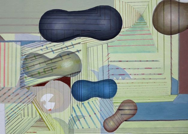 Florin Ciubotaru_Coconi_90x90cm_acrilic pe panza_2012